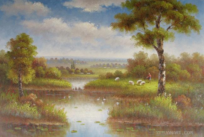 65 Koleksi Lukisan Pemandangan Untuk Pemula Gratis Terbaik